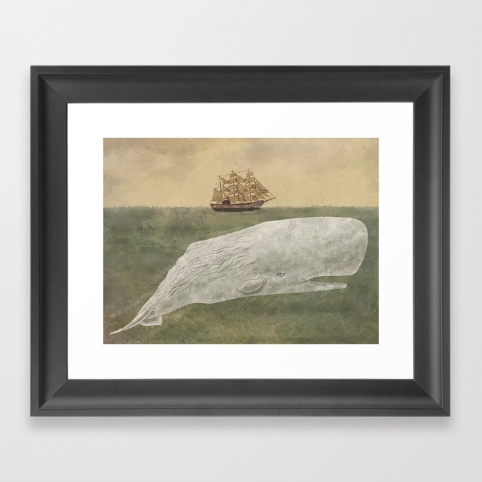 Far From Nantucket  Framed Art Print