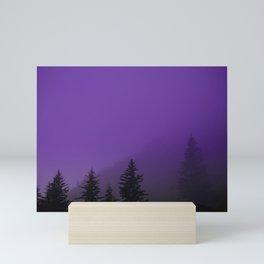 Ultra Violet Fog - Seward Alaska Mini Art Print