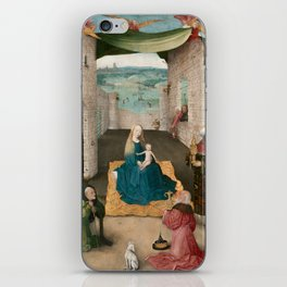 The Adoration of the Magi by Hieronymus Bosch, 1475 iPhone Skin
