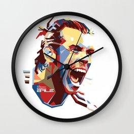 Gareth Bale WPAP 2 Wall Clock