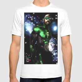 John Stewart : The Green Lantern T-shirt