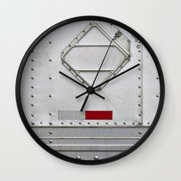 Metal Truck Panel Wall Clock