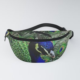 Proud Peacock Fanny Pack