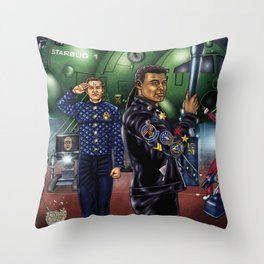 Boys From The Dwarf Throw Pillow