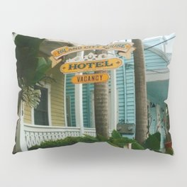 The colorful streets of Key West Pillow Sham