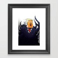 Drumphthulhu Framed Art Print