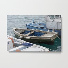 little fishing boats Metal Print