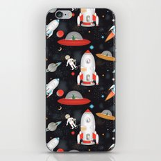 Spaceships iPhone Skin