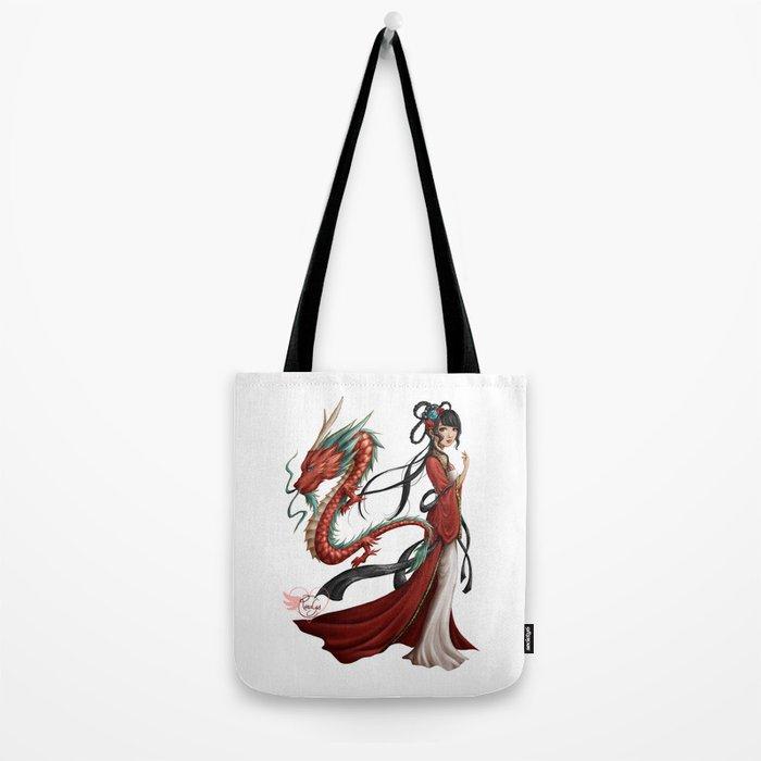 Chinese dragon pure Tote Bag