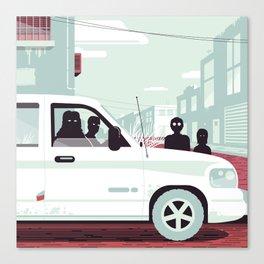 Paranoia 3 Canvas Print