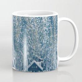 Winter's Cottage (Color) Coffee Mug