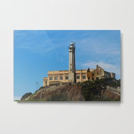 Alcatraz from the Bay 2 Metal Print