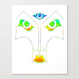 All Eyes On You (Remix) Canvas Print