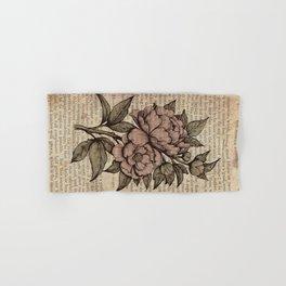 Peonies  - Color Hand & Bath Towel