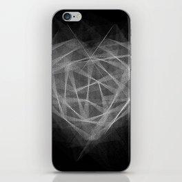 Coração Transcrito 2 iPhone Skin