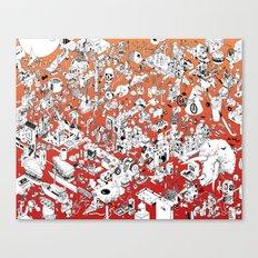 I Lost My Keys Canvas Print