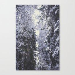 Freezing rastafaris Canvas Print