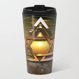 SACRED GEOMETRY - TRINITY 2015 Metal Travel Mug