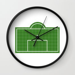 Football Penalty Area Wall Clock