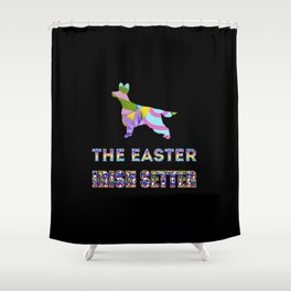 Irish Setter gifts | Easter gifts | Easter decorations | Easter Bunny | Spring decor Shower Curtain