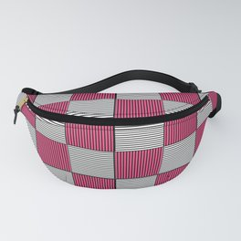Checkered Pattern 3 Fanny Pack