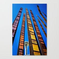 Seattle Art Canvas Print