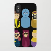 watchmen iPhone & iPod Cases featuring Watchmen by PinkRadish