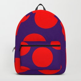 yellow dots 02 Backpack