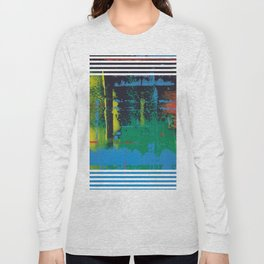 Color Chrome - Line graphic Long Sleeve T-shirt