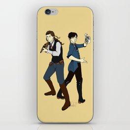 Bioshock Infinite iPhone Skin