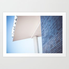 Achitecture compositons Art Print