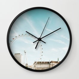 London Eye Travel Photography Wall Clock