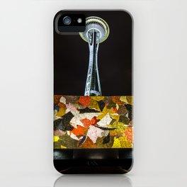 space needle iPhone Case