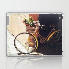 Yellow Bicycle Laptop & iPad Skin