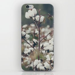 Cotton Field 8 iPhone Skin
