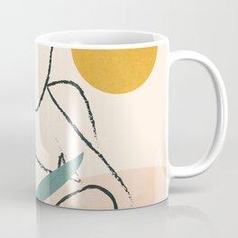 Minimal Line in Nature II Coffee Mug
