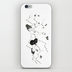 Mountain Girl iPhone & iPod Skin