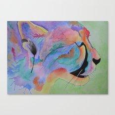 Vibrant Cheetah Canvas Print