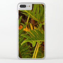 Floral prints 001 Clear iPhone Case