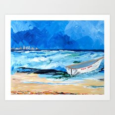Ocean City Summer Art Print