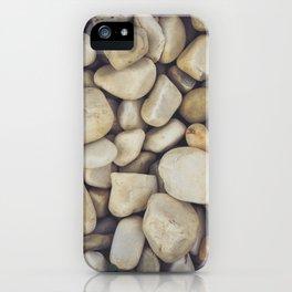 White Stones iPhone Case