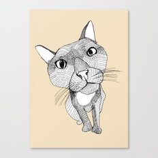 BigHead Cat Canvas Print