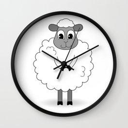 Not BaAad Lamb / Ewe Wall Clock