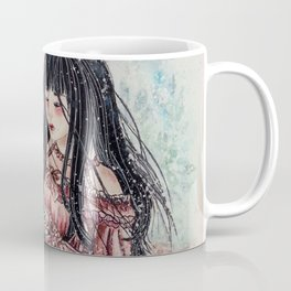 Rose Girl (Watercolor) Coffee Mug