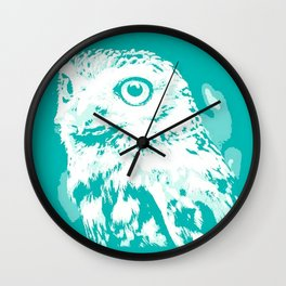 When an Owl Stares Wall Clock