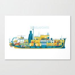 BELAFONTE - The Life Aquatic with Steve Zissou Canvas Print