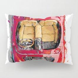Rosso Corsa Pillow Sham