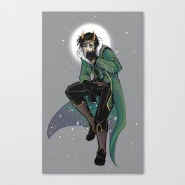 Moon King Loki Canvas Print