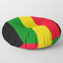 Rastafari Colors Floor Pillow