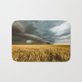 Earth Mover - Storm Advances Across Great Plains in Colorado Bath Mat